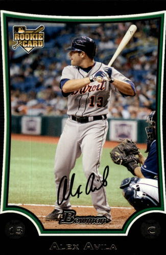 Photo of 2009 Bowman Draft #BDP13 Alex Avila Rookie Card Cubs post-season