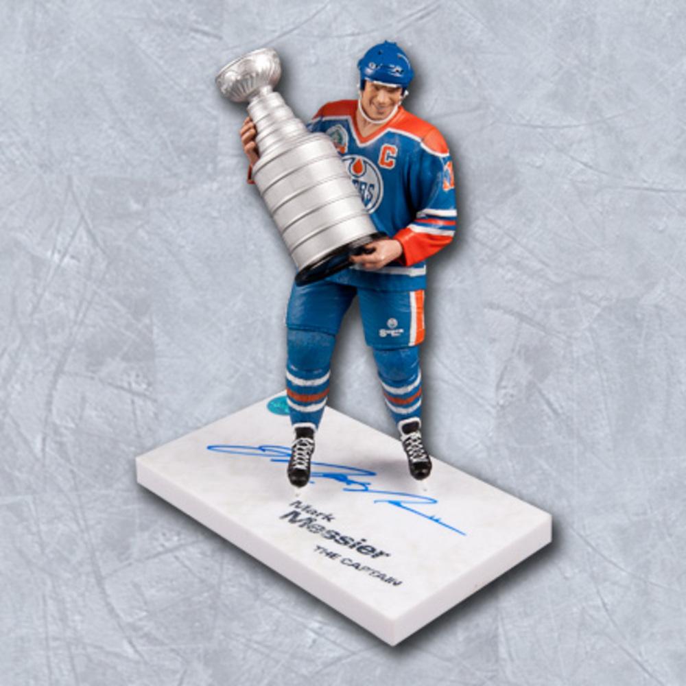 Mark Messier Edmonton Oilers Autographed McFarlane Figure