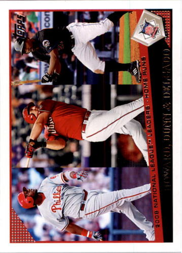 Photo of 2009 Topps #81 Ryan Howard/Adam Dunn/Carlos Delgado LL