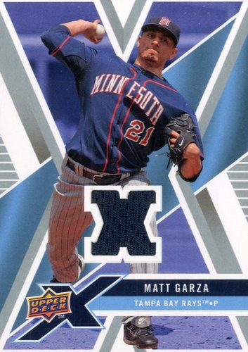 Photo of 2008 Upper Deck X Memorabilia #MG Matt Garza