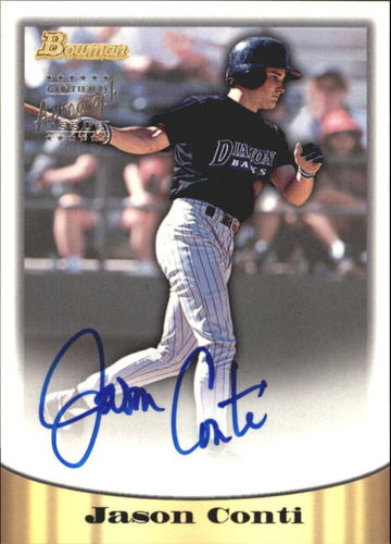 Photo of 1998 Bowman Certified Silver Autographs #56 Jason Conti