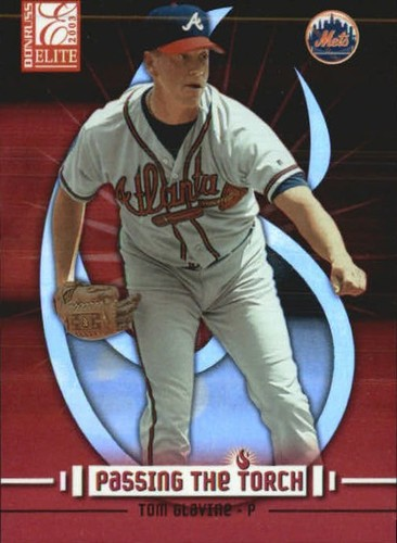 Photo of 2003 Donruss Elite Passing the Torch #8 Tom Glavine
