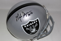 HOF - RAIDERS MIKE HAYNES SIGNED RAIDERS PROLINE HELMET