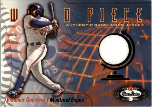 Photo of 2003 Fleer Box Score World Piece Game Jersey #VG Vladimir Guerrero SP/200