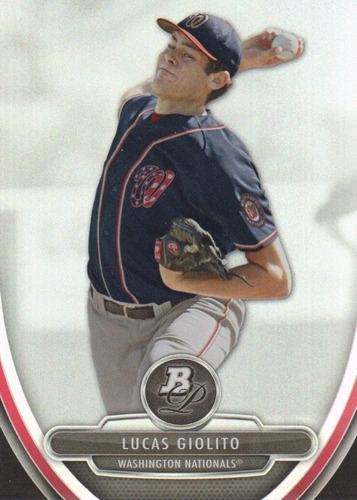 Photo of 2013 Bowman Platinum Prospects #BPP74 Lucas Giolito