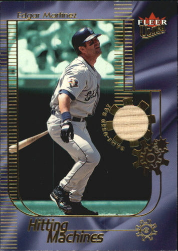 Photo of 2002 Ultra Hitting Machines Game Bat Edgar Martinez