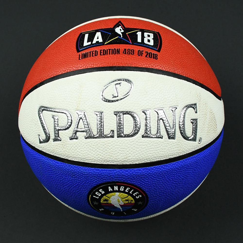 NBA All-Star 2018 - Verizon Slam Dunk Event-Used 'Money Ball' Basketball