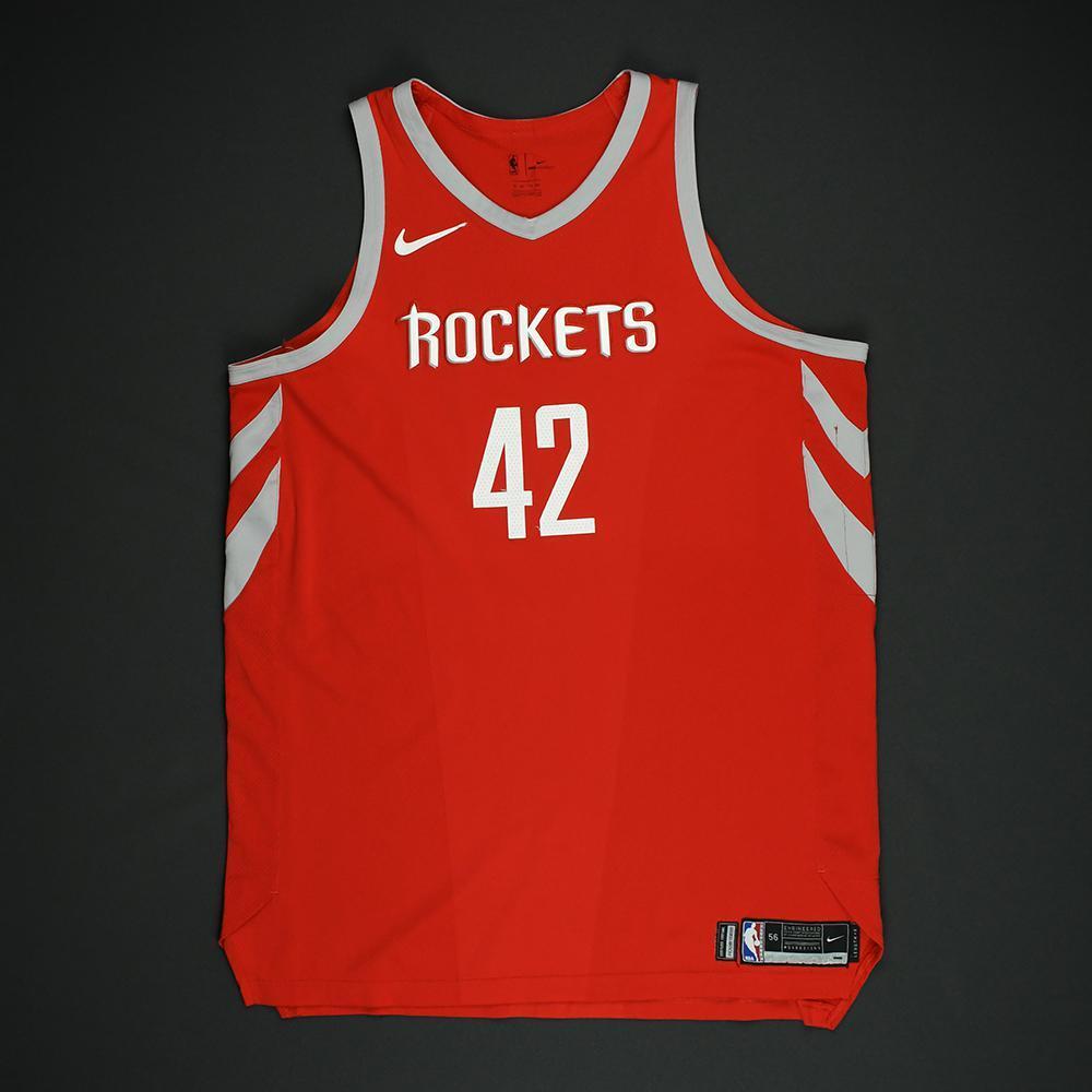 Nene - Houston Rockets - NBA Christmas Day '17 Game-Worn Jersey