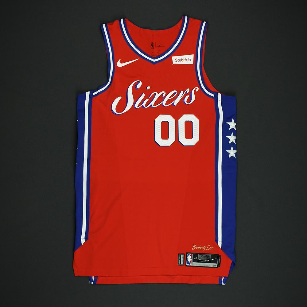 Jacob Pullen - Philadelphia 76ers - NBA Christmas Day '17 'Statement' Game-Worn Jersey - Dressed, Did Not Play