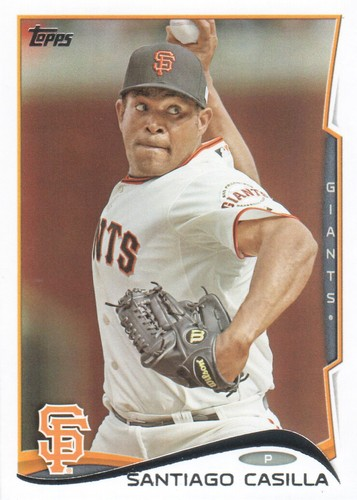 Photo of 2014 Topps #636 Santiago Casilla
