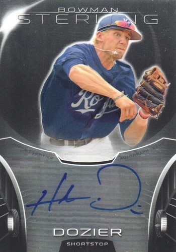 Photo of 2013 Bowman Sterling Prospect Autographs #HD Hunter Dozier