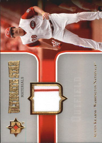 Photo of 2007 Ultimate Collection Ultimate Star Materials #AK2 Austin Kearns