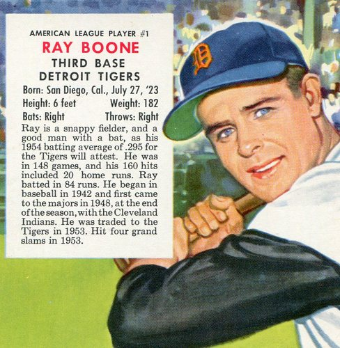 Photo of 1955 Red Man #AL1 Ray Boone
