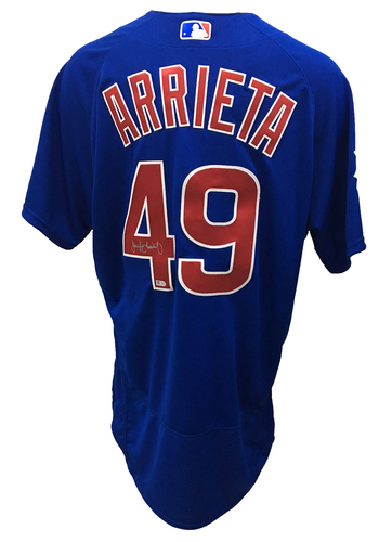 Photo of Jake Arrieta Autographed Jersey