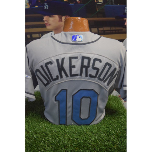 2017 Game-Used Fathers Day Jersey: Corey Dickerson