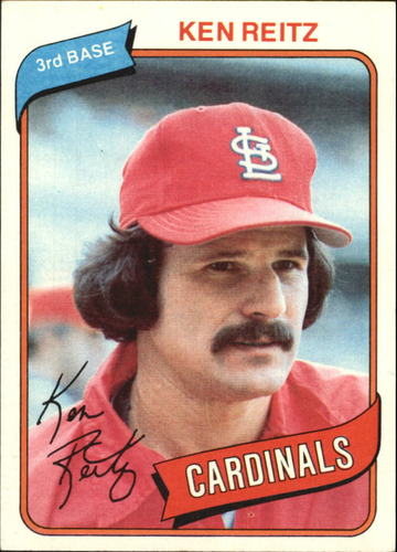 Photo of 1980 Topps #182 Ken Reitz