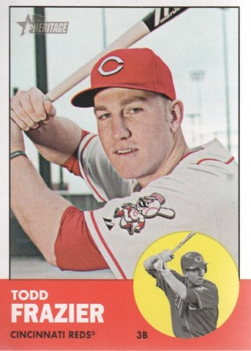 Photo of 2012 Topps Heritage #133 Todd Frazier
