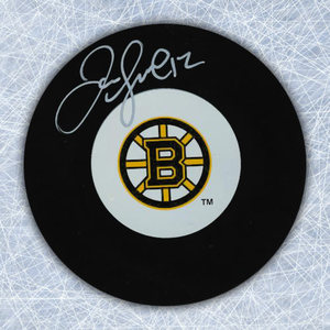 Jarome Iginla Boston Bruins Autographed Hockey Puck