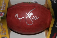 HOF - RAIDERS RONNIE LOTT SIGNED AUTHENTIC FOOTBALL