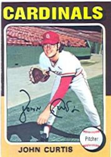 Photo of 1975 Topps #381 John Curtis