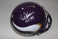 HOF - VIKINGS PAUL KRAUSE SIGNED VIKINGS PROLINE HELMET