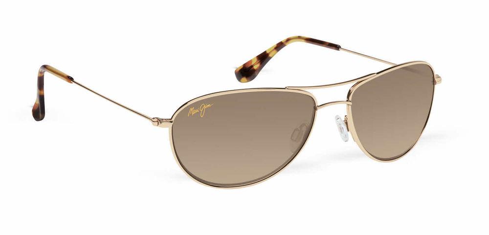 Maui Jim Baby Beach HS245-16 Gold/HCL* Bronze Polarized Sunglasses