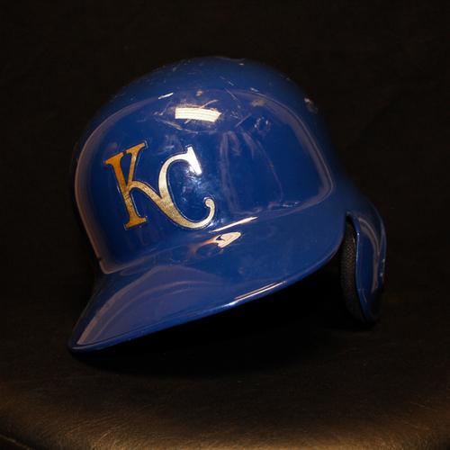 Photo of Whit Merrifield Game-Used Helmet (9/30/16) (Size 7 1/2)