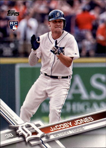 Photo of 2017 Topps #139 JaCoby Jones RC