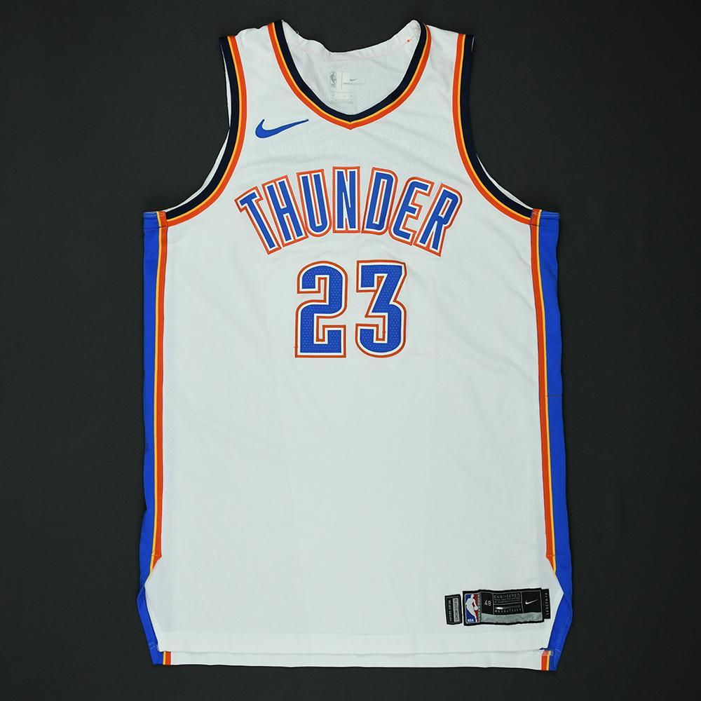 Terrance Ferguson - Oklahoma City Thunder - 2018 NBA Playoffs Game-Worn Jersey