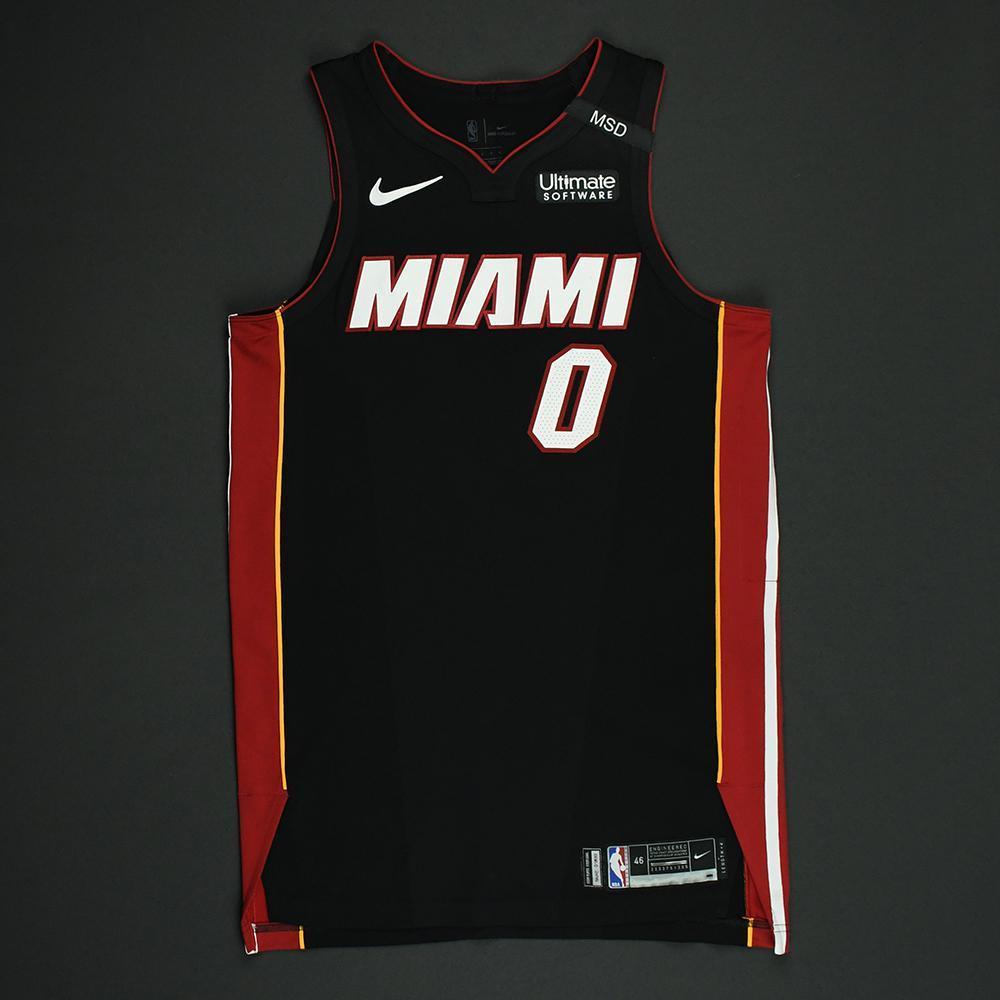 Josh Richardson - Miami Heat - 2018 NBA Playoffs Game-Worn Jersey