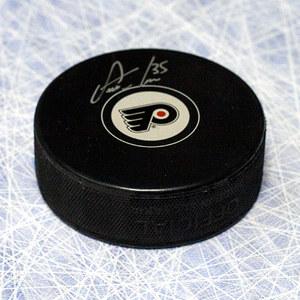 Steve Mason Philadelphia Flyers Autographed Hockey Puck