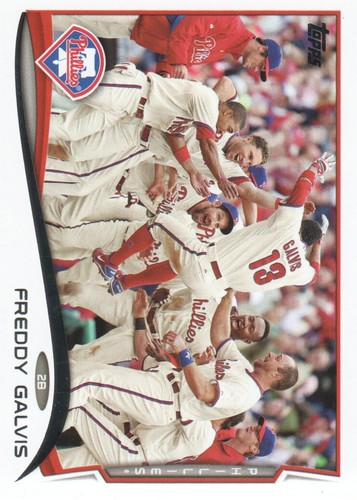 Photo of 2014 Topps #637 Freddy Galvis