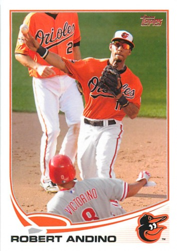 Photo of 2013 Topps #176 Robert Andino