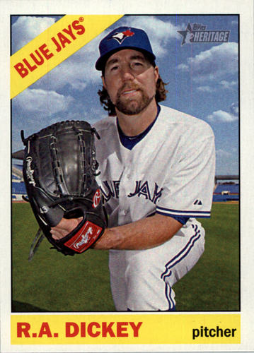 Photo of 2015 Topps Heritage #287 R.A. Dickey