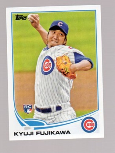 Photo of 2013 Topps Update #US56 Kyuji Fujikawa RC