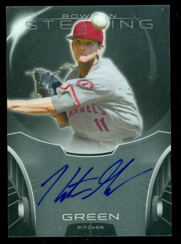 Photo of 2013 Bowman Sterling Prospect Autographs #HG Hunter Green