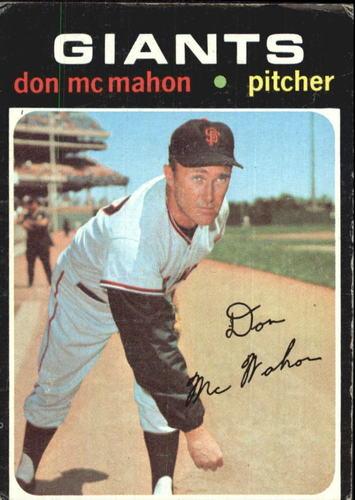 Photo of 1971 Topps #354 Don McMahon