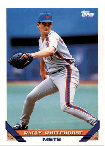 Photo of 1993 Topps #271 Wally Whitehurst