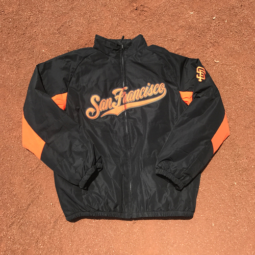 Photo of San Francisco Giants - 2016 Giants Jackets - Team-Issued - Johnny Cueto