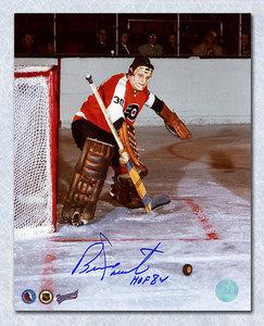 Bernie Parent Philadelphia Flyers Autographed Expansion Season 8x10 Photo