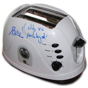 Grant Fuhr & Mike Krushelnyski Autographed Edmonton Oilers Pro Toast