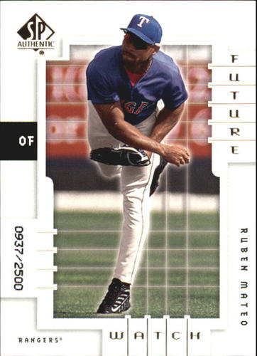 Photo of 2000 SP Authentic #132 Ruben Mateo FW