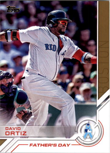 Photo of 2017 Topps Salute #S40 David Ortiz