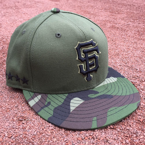 San Francisco Giants - Game-Used Cap - Memorial Day - Christian Arroyo