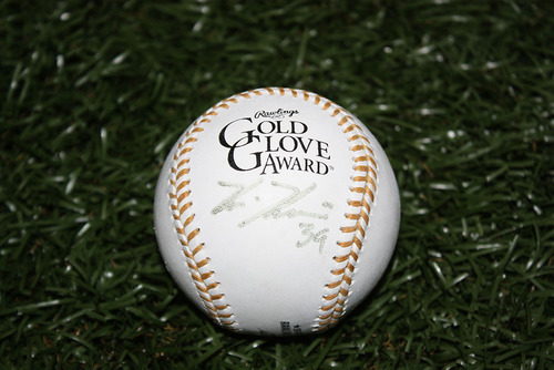 Photo of Buy Now: Kevin Kiermaier Gold Glove Autographed Baseball