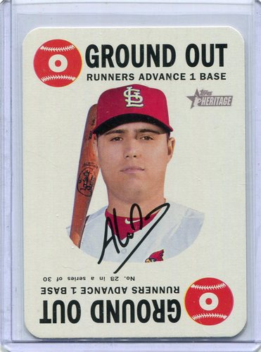 Photo of 2017 Topps Heritage Topps Game #28 Aledmys Diaz