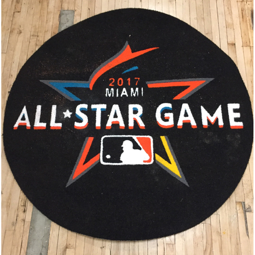 Photo of 2017 MLB All-Star Game - National League Game-Used On Deck Circle - 7/11/17