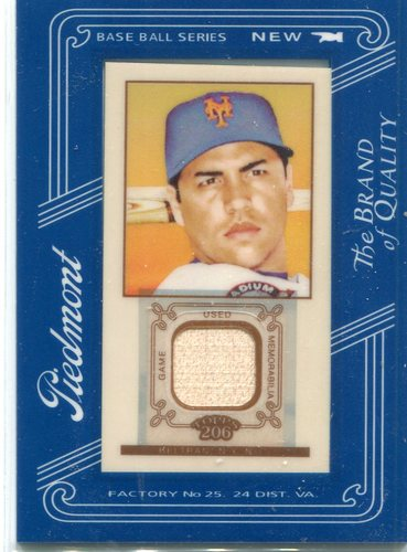 Photo of 2009 Topps 206 Mini Framed Relics Piedmont  Carlos Beltran Bat