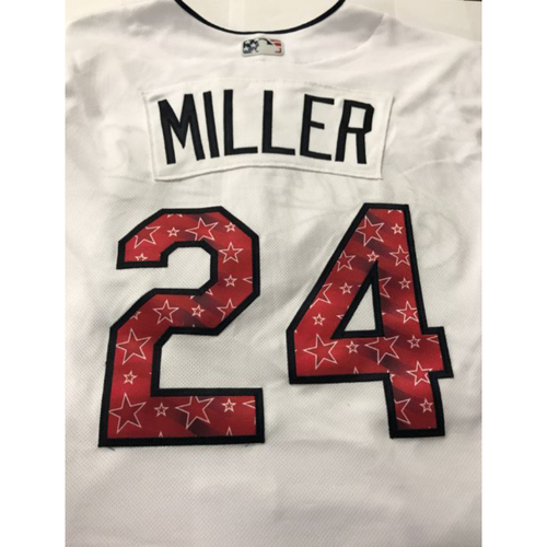 Photo of Andrew Miller Game Worn Stars & Stripes Jersey