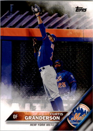 Photo of 2016 Topps #312A Curtis Granderson